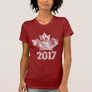 Camiseta Canadá estabeleceu o aniversário 1867 150 anos