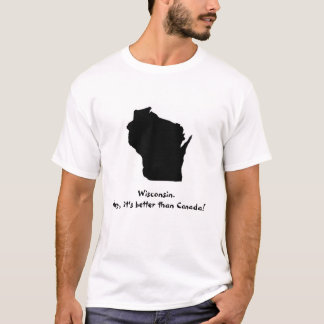 Camiseta Canadá não é nenhum Wisconsin!