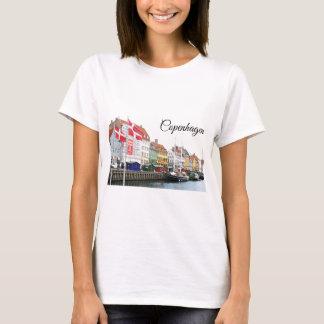 Camiseta Canal de Nyhavn em Copenhaga, Danmark