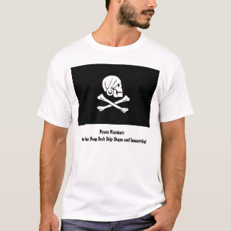 Camiseta Canalizador do pirata
