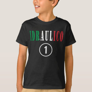 Camiseta Canalizador italianos: ONU de Idraulico Numero