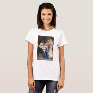 Camiseta Canção da Virgem Maria do vintage do t-shirt dos