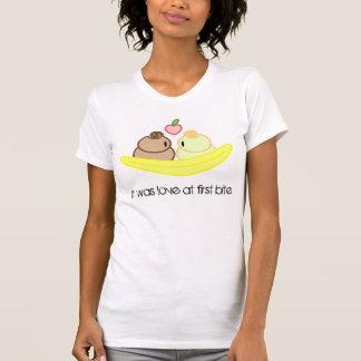 Camiseta Canção de amor da separação de banana