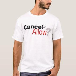 Camiseta Cancele ou reserve?