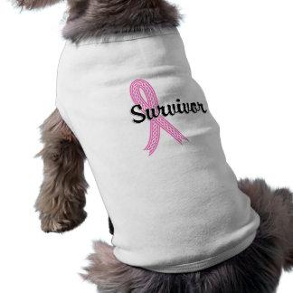 Camiseta Cancro da mama do sobrevivente 17