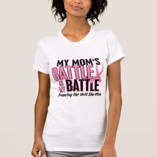 Camiseta Cancro da mama minha BATALHA DEMASIADO 1 mamã