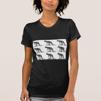 Camiseta canguru encaixotado - no quadrado