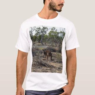 Camiseta Canguru, meio quando no Billabong,