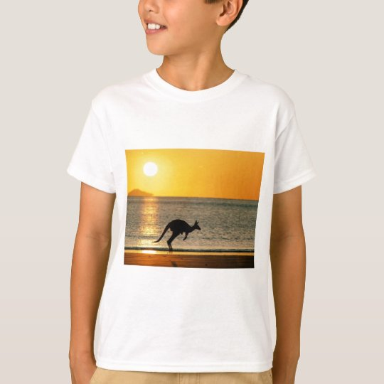 Camiseta Cangurus ao por do sol