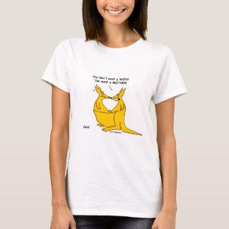 Camiseta Cangurus engraçados dos desenhos animados da