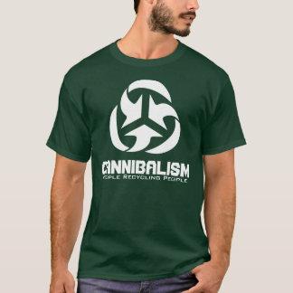 Camiseta Canibalismo - pessoas que recicl pessoas