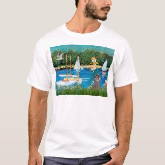 Camiseta Caniche (8S) - veleiros