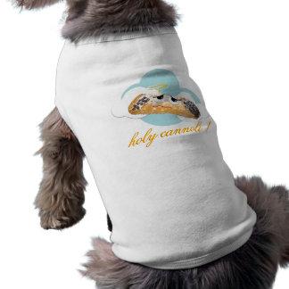 """Camiseta """"cannoli santamente!""""  camisa cómico do cão t da p"""