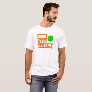 Camiseta Cano principal do planeta do pão árabe (planeta