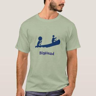 Camiseta Canoa do azul do BigHead