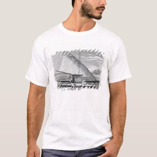 Camiseta Canoa dobro do Fijian da história de