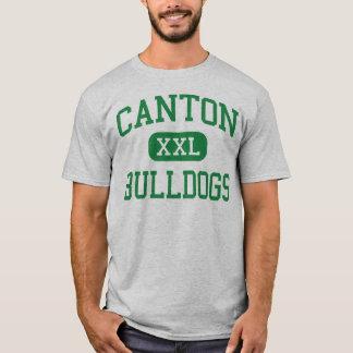 Camiseta Cantão - buldogues - alto - cantão Massachusetts