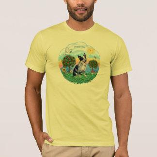 Camiseta Cão australiano 1 do gado