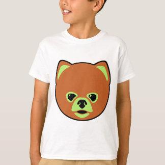 Camiseta Cão bonito de Pomeranian
