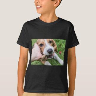 Camiseta Cão com vara
