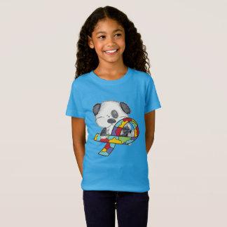 Camiseta Cão da consciência do autismo