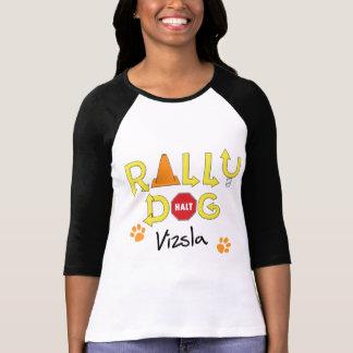 Camiseta Cão da reunião de Vizsla