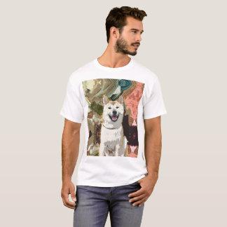 Camiseta Cão de Akita Inu