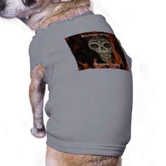 Camiseta Cão de Badass engraçado