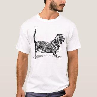 Camiseta Cão de Basset