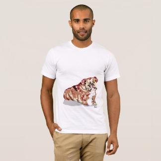 Camiseta Cão de Bull do inglês do t-shirt - adicione em o