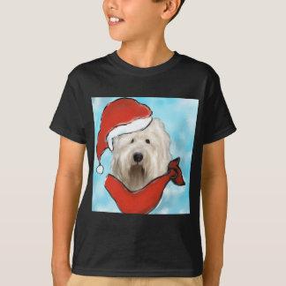 Camiseta Cão de carneiros inglês velho
