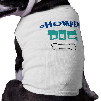 Camiseta Cão de Chomper engraçado