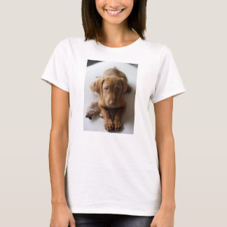 Camiseta Cão de filhote de cachorro adorável de Vizsla -
