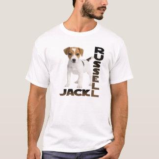 Camiseta Cão de filhote de cachorro de Jack Russell