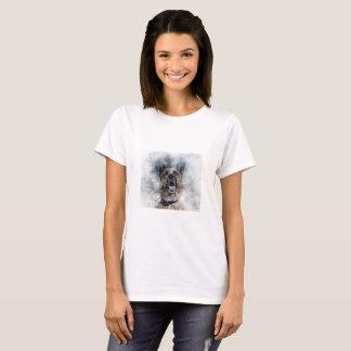 Camiseta Cão de german shepherd