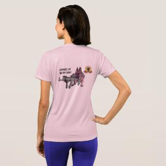 Camiseta Cão de guarda do german shepherd
