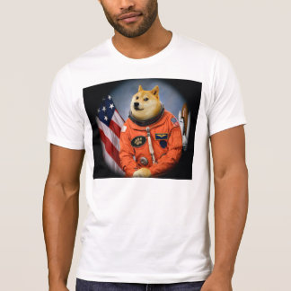 Camiseta cão do astronauta - doge - shibe - memes do doge