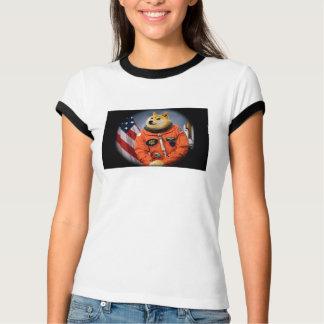 Camiseta cão do astronauta - doge - shibe - memes do doge