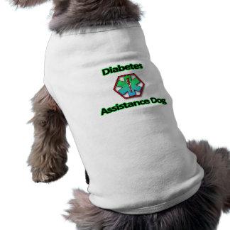 Camiseta Cão do auxílio do diabetes