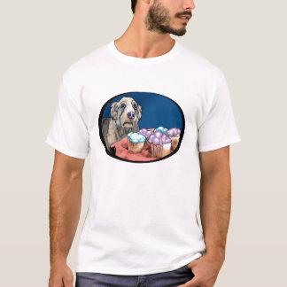 Camiseta Cão do cupcake