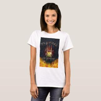 Camiseta Cão do ferro de Flamz Flyball - 10 anos de