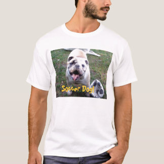 Camiseta Cão do futebol!
