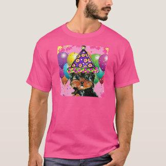 Camiseta Cão do partido de Yorkie Poo