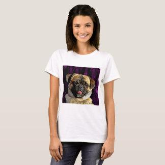 Camiseta Cão do Pug de Sammy
