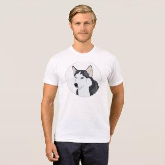 Camiseta Cão do rouco Siberian
