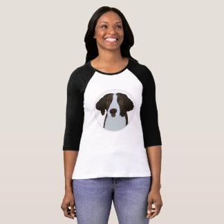 Camiseta Cão do Spaniel de Springer inglês