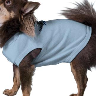 Camiseta Cão do tamanho real, azul