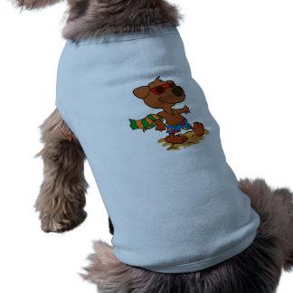 Camiseta Cão do verão