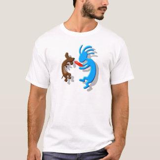 Camiseta Cão do Wiener de Kokopelli