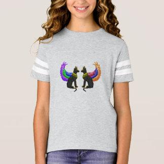 Camiseta cão egípcio com asas